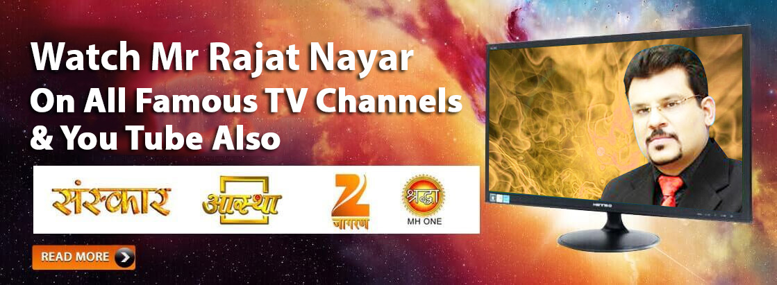 Indian Astrologer Rajat Nayar on T.V. Channels